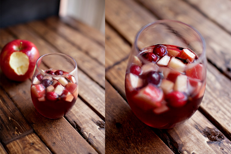 Abu's Temptation -- Apple Crisp Sangria {A Disney Inspired Cocktail}