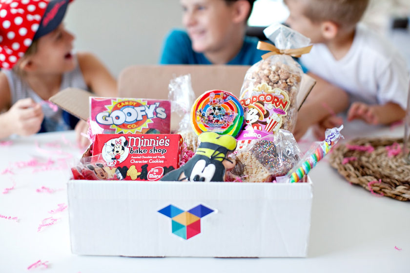 Boxney is a monthly subscription box where they send Disney Parks Snacks right to your door!