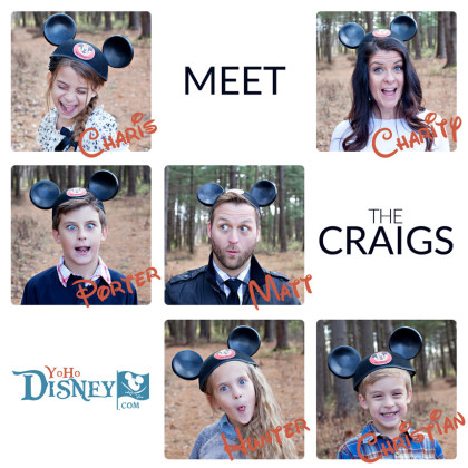 Meet the Craigs of Yo Ho Disney